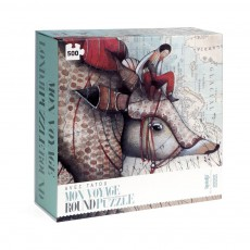 Londji Puzzle rond Tatou 500 pièces-listing