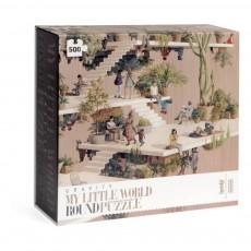 Londji Gravity 500-piece Round Puzzle-listing