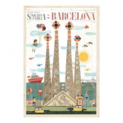 Londji Puzzle Barcelona Multicolor-listing