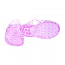 Meduse Sandalen aus Plastik mit Pailletten Sun -listing