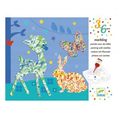 Djeco Peinture avec billes Défilé mulitcolore-listing