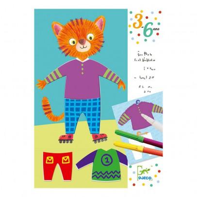 Djeco Les habits d'Elliot & Zoe Magic Felt Pens-product