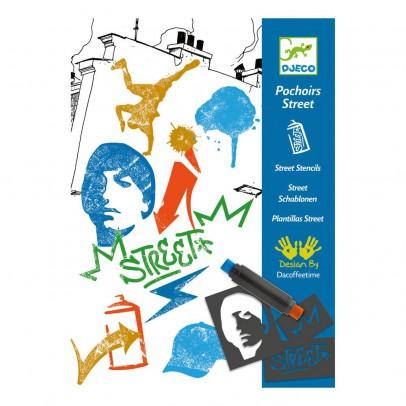 Djeco Street Stencils-listing