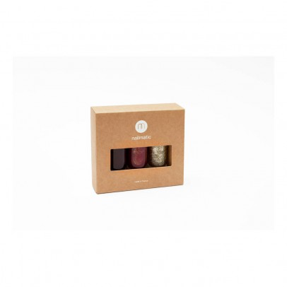 Nailmatic Gina, Zoé, Zia - 3 Patent Leather Boxes-listing