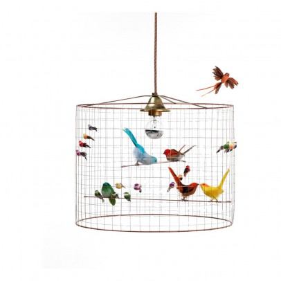 Mathieu Challières Samll Hanging Birdcage-listing