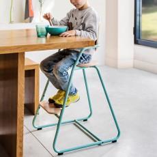 Charlie Crane Chaise haute évolutive en bois et métal-listing