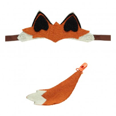 Sew heart felt Fox Ear and Tail-listing