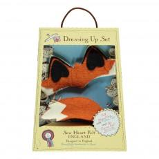 Sew heart felt Fox Ear and Tail-listing