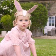 Sew heart felt Bunny Ears and Tail-listing