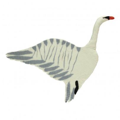 Sew heart felt Rug - Swan-listing