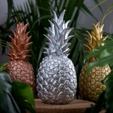 Goodnight Light Silver Pineapple Lamp-listing