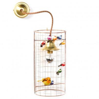 Mathieu Challières Birdcage Wall Lamp-listing
