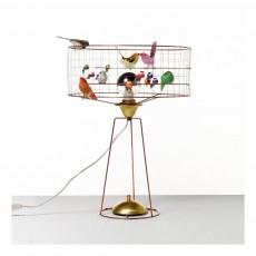 Mathieu Challières Adjustable Large Drum Birdbage Lamp-listing