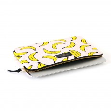 "Woouf Pochette laptop 11"" bananes-listing"