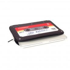 "Woouf Pochette laptop 13"" cassette-listing"