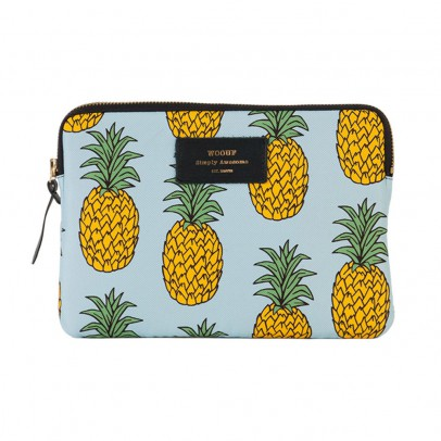 Woouf Pineapples iPad Pouch-listing