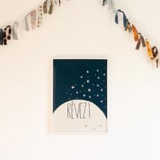 Mathilde Cabanas Affiche Rêvez 29,7x42 cm-listing