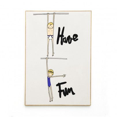 Mathilde Cabanas Affiche Have fun 29,7x42 cm-listing