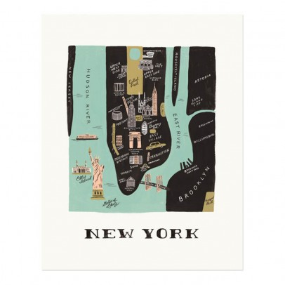Rifle Paper Co Rifle Paper New York Poster - 28x35 cm-listing