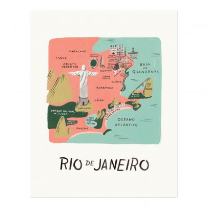 Rifle Paper Co Affiche Rifle Paper Rio - 28x35 cm-listing