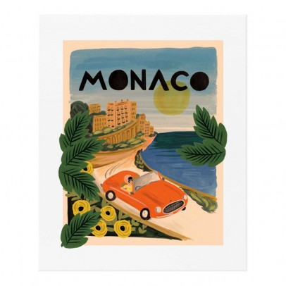 Rifle Paper Co Affiche Rifle Paper Monaco - 28x35 cm-listing