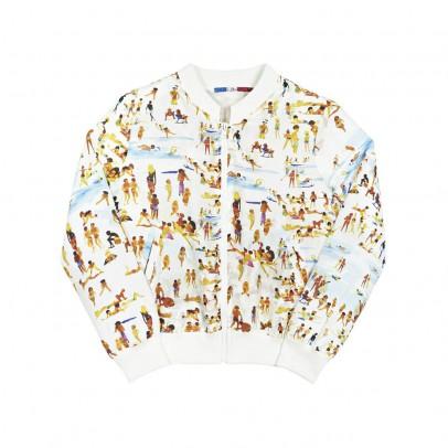 G.KERO La Plage Silk Bomber Jacket-listing