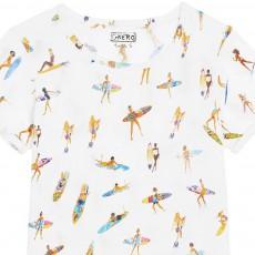 G.KERO Girl Fire Surfers T-Shirt-listing