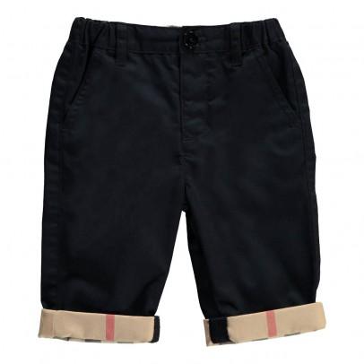 Burberry Ricky Tartan Reversible Pants-listing