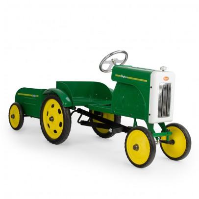 Baghera Tracteur à pédales - Vert-listing