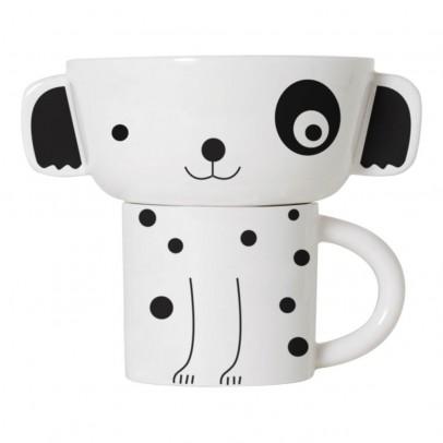 Wee Gallery Schale und Tasse-Hund -listing