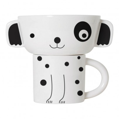 Wee Gallery Set bol et tasse chien-listing