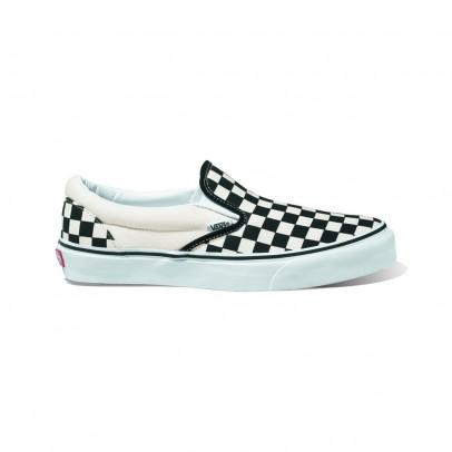 Vans Damier Classic Slip-On Shoes-listing