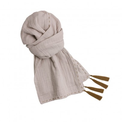 Numero 74 Foulard Pompons 55*160  - Collection Ado et Femme --product