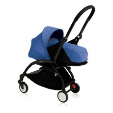 Babyzen Complete New YOYO+ Newborn Baby Stroller, Birth 0-6 months, Black Frame-listing