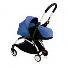 Babyzen Complete New YOYO Newborn Baby Stroller, Birth 0-6 months, White Frame-listing