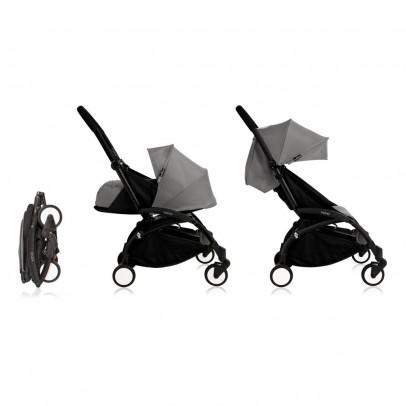 Babyzen Complete New YOYO Convertible Stroller 0-5 years, Black Frame-listing