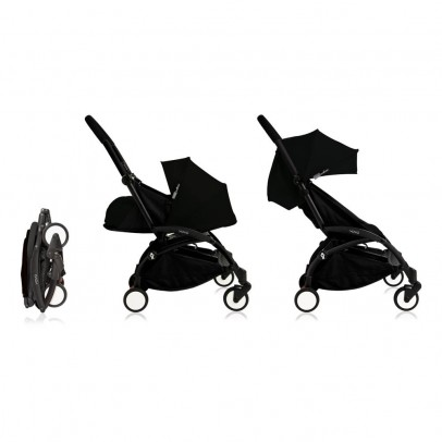 Babyzen Complete New YOYO Convertible Stroller 0-5 years, Black Frame-listing