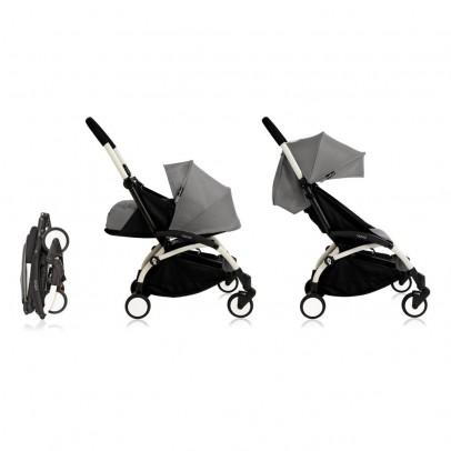 Babyzen Kinderwagen New Yoyo + 0 Monate bis 5 Jahre-Gestell-Weiss-listing
