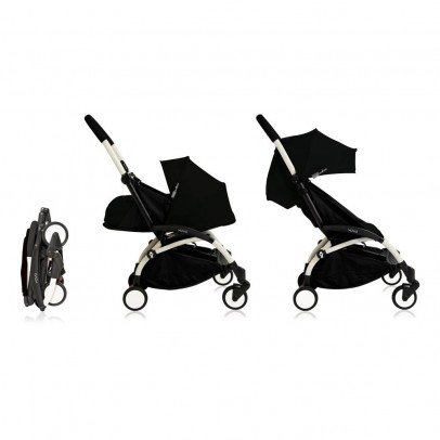 Babyzen Complete New YOYO+ Convertible Stroller 0-5 years, White Frame-listing