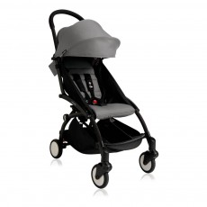 Babyzen Poussette complète new Yoyo+ junior 6 mois-5 ans, châssis noir-listing