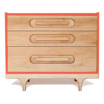 Kalon Studios Caravan Dresser - Coral Red-listing