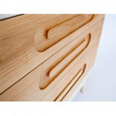 Kalon Studios Commode Caravan - Rouge Corail-listing