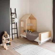 Kutikai Junior Bett Hütte 80x160 cm-listing