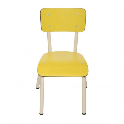 Les Gambettes Little Suzie child chair - yellow-listing