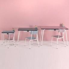 Les Gambettes Chaise enfant little Suzie - Vieux rose-listing