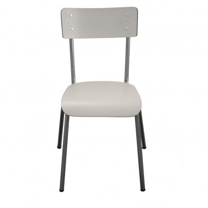 Les Gambettes Adult Suzie chair - pearl grey/untreated feet-listing