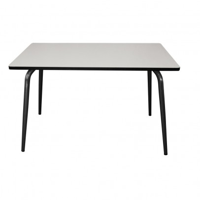 Les Gambettes Table Vera - Gris perle/pieds bruts-listing