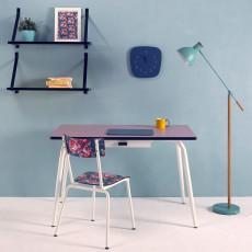 Les Gambettes Romy elementary desk - dusky pink-listing