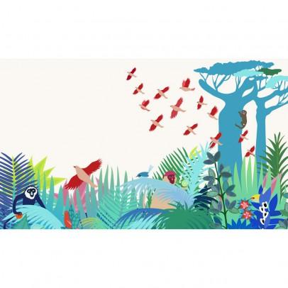 Little Cabari Papier peint décor Manja 300x350 cm-listing