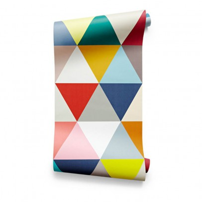 Bien Fait Carta da Parati Mosaico triangoli 182x280 cm-2 strati-listing